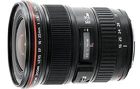Canon EF 16-35mm f/2.8L USM.   Photo (c) Canon USA.