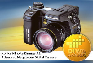 DIWA Award for Konica Minolta DiMAGE A2
