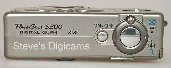 Canon PowerShot S200 Digital ELPH