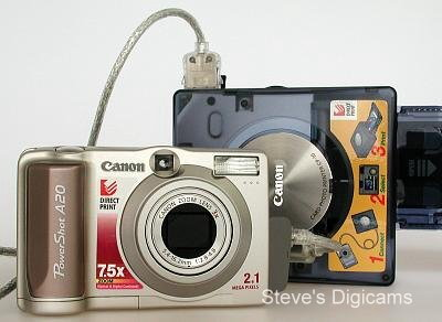 Canon PowerShot A20 Zoom