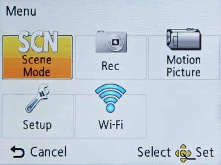 Panasonic DMC-SZ5-menu-main.jpg
