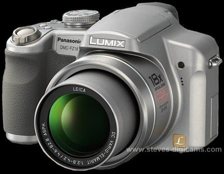 Click to take a QuickTime VR tour of the Panasonic Lumix DMC-FZ18