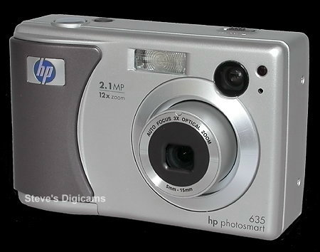Click to take 360-degree QTVR tour of the HP Photosmart 635