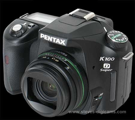 Click to take a QuickTime VR tour of the Pentax K100D Super