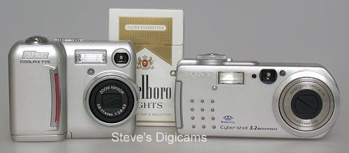 Sony P5 and Nikon 775