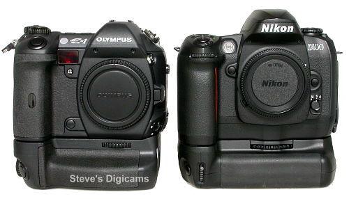 Olympus E-1 Digital SLR, photo (c) 2003 Steves Digicams