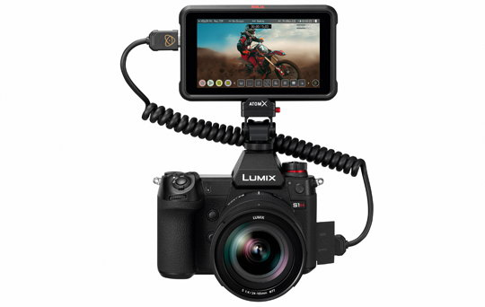 Panasonic Lumix S1H & Atomos Ninja V