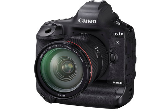 Canon EOS-1D X Mark III Camera