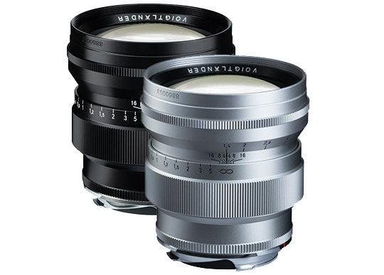 Voigtlander Nokton 75mm f/1.5 Aspherical Lens