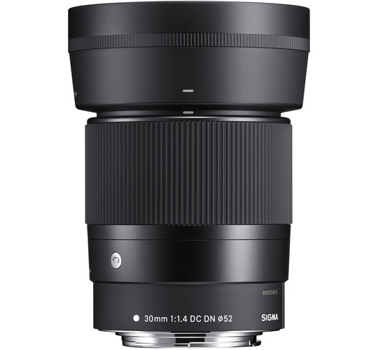 Sigma 30mm f/1.4 DC DN Contemporary Lens for Canon EF-M