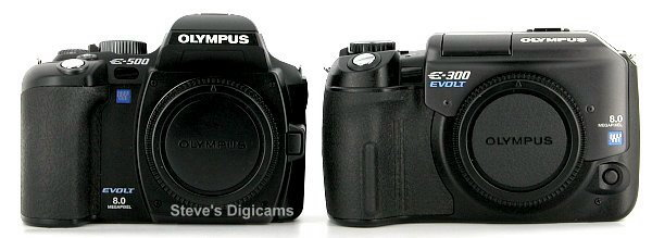 Olympus EVOLT E-500 Digital SLR