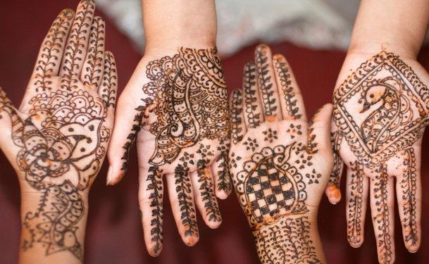 Henna Body Art An Alternative To Tattooing
