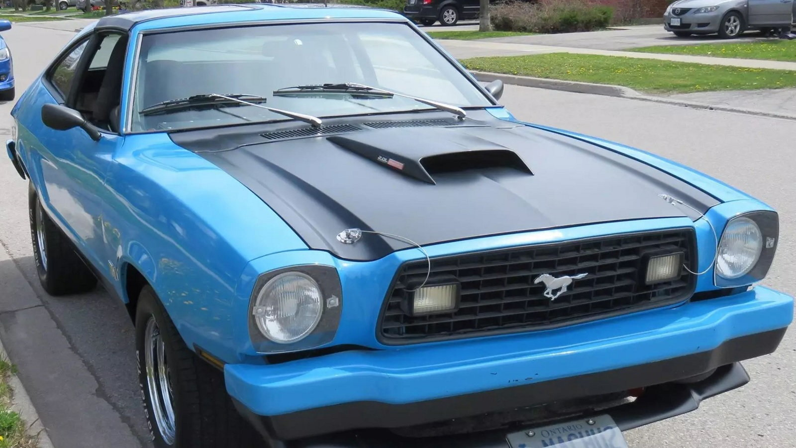 Jason Bowman has owned his Ford Mustang II for a very, very long time