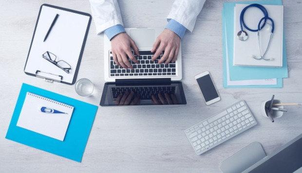 Doctor on social media