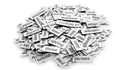 A pile of words.
