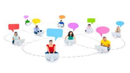 An online network.