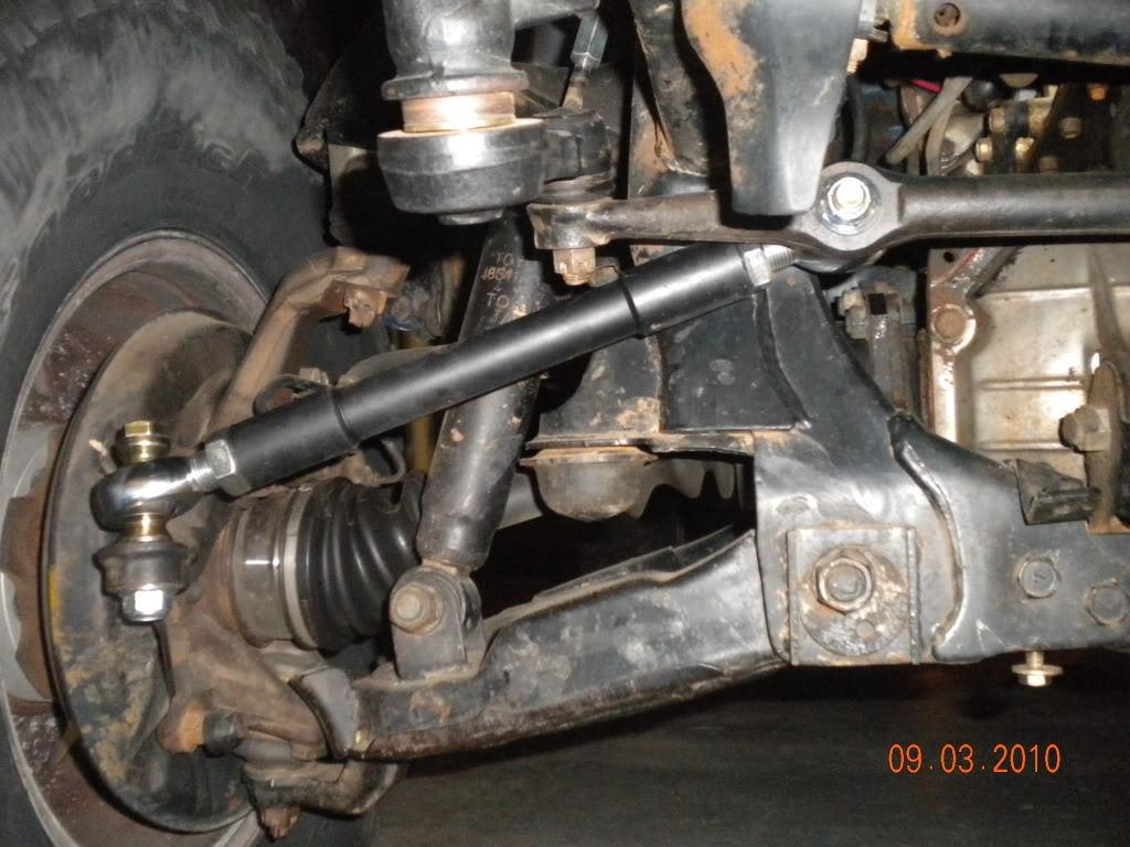 Car's tie rod ends