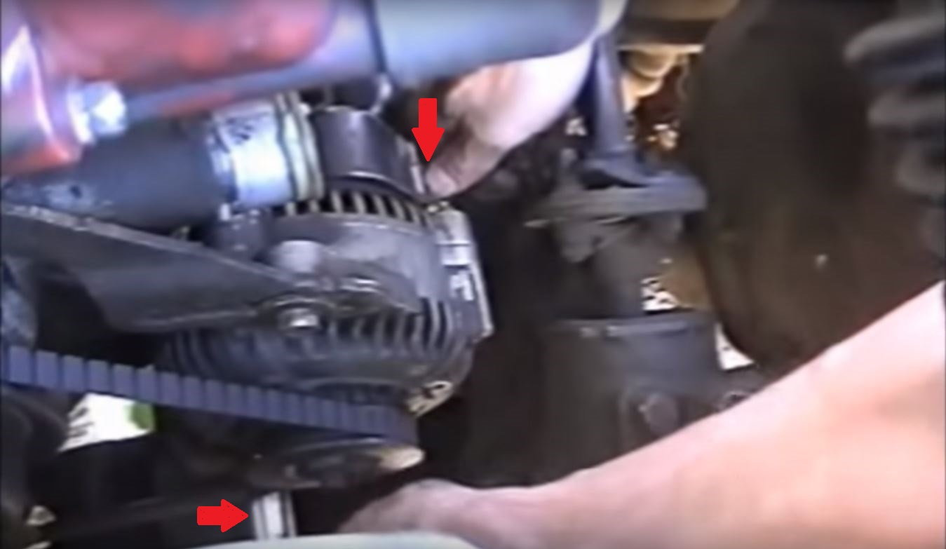 toyota 4runner truck alternator removal replace DIY how to