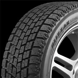 Winter tires like the Blizzak offer superior traction in snow and ice
