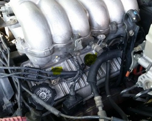 Toyota 4runner spark plugs wires how to install DIY
