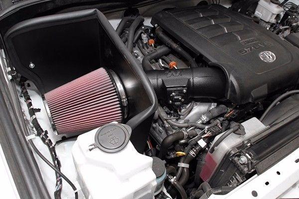 Typical cold air intake kit