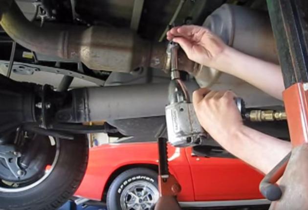 Toyota Tundra Replacing Exhaust