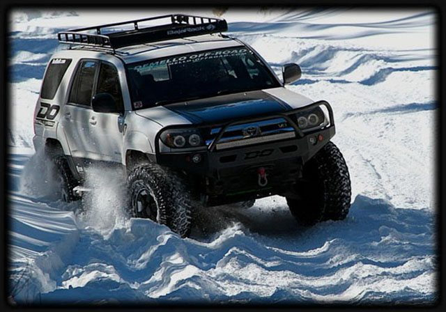 Toyota 4Runner off-road