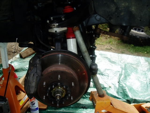 Install new upper and lower ball joints