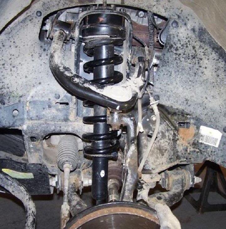 reinstall strut tower and torque
