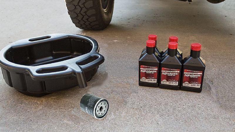 toyota pickup 4runner i4 v6 oil change DIY how to