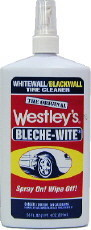 Bleche-Wite is a very popular tire cleaner that works great