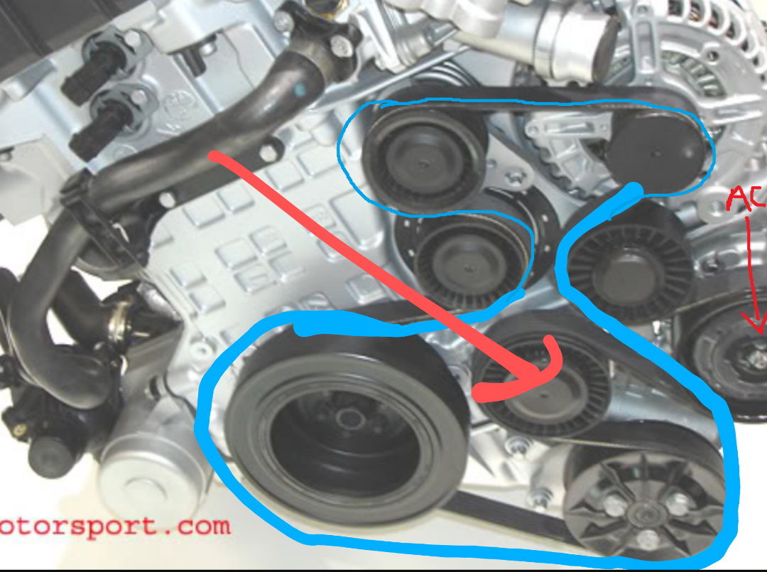 E60 N54 A  C Serpentine Belt Bypass - 5series Net
