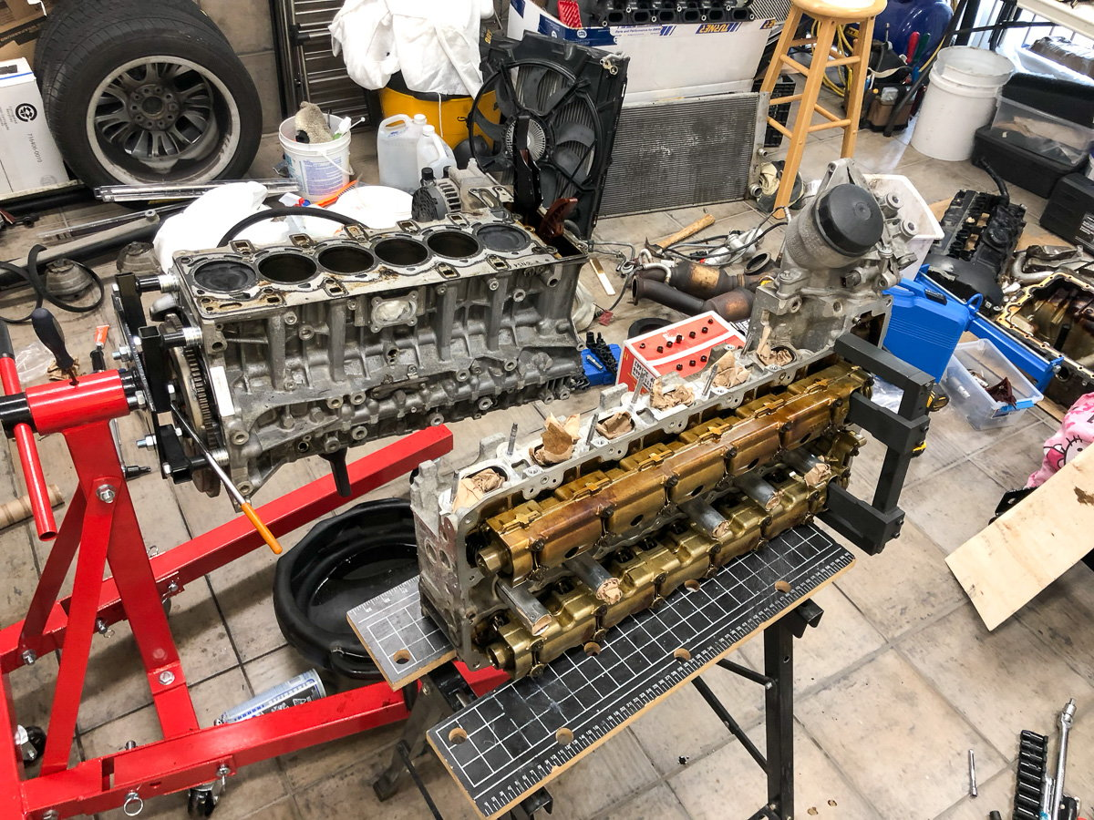 Turbo replacement, coolant, ignition, VANOS work - Page 2
