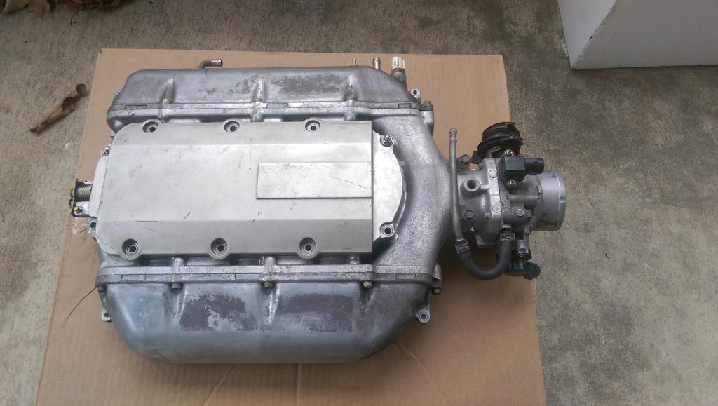 CLOSED Type S J32A2 Intake Manifold & TB, J35A4 Intake Manifold & TB