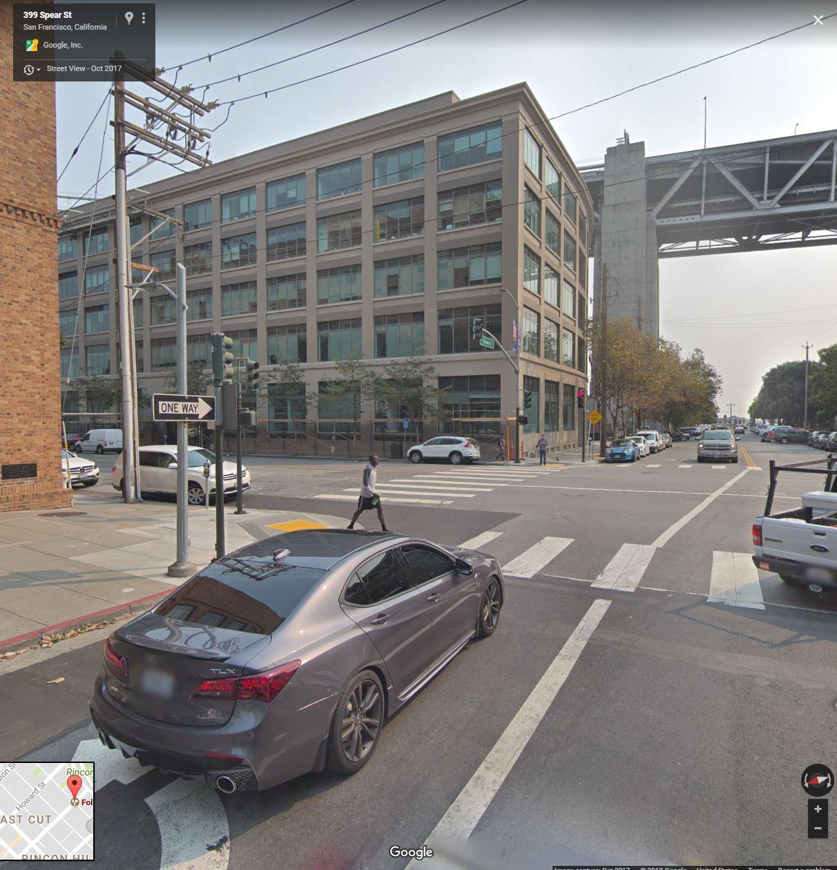 Caught An Aspec On Google Maps