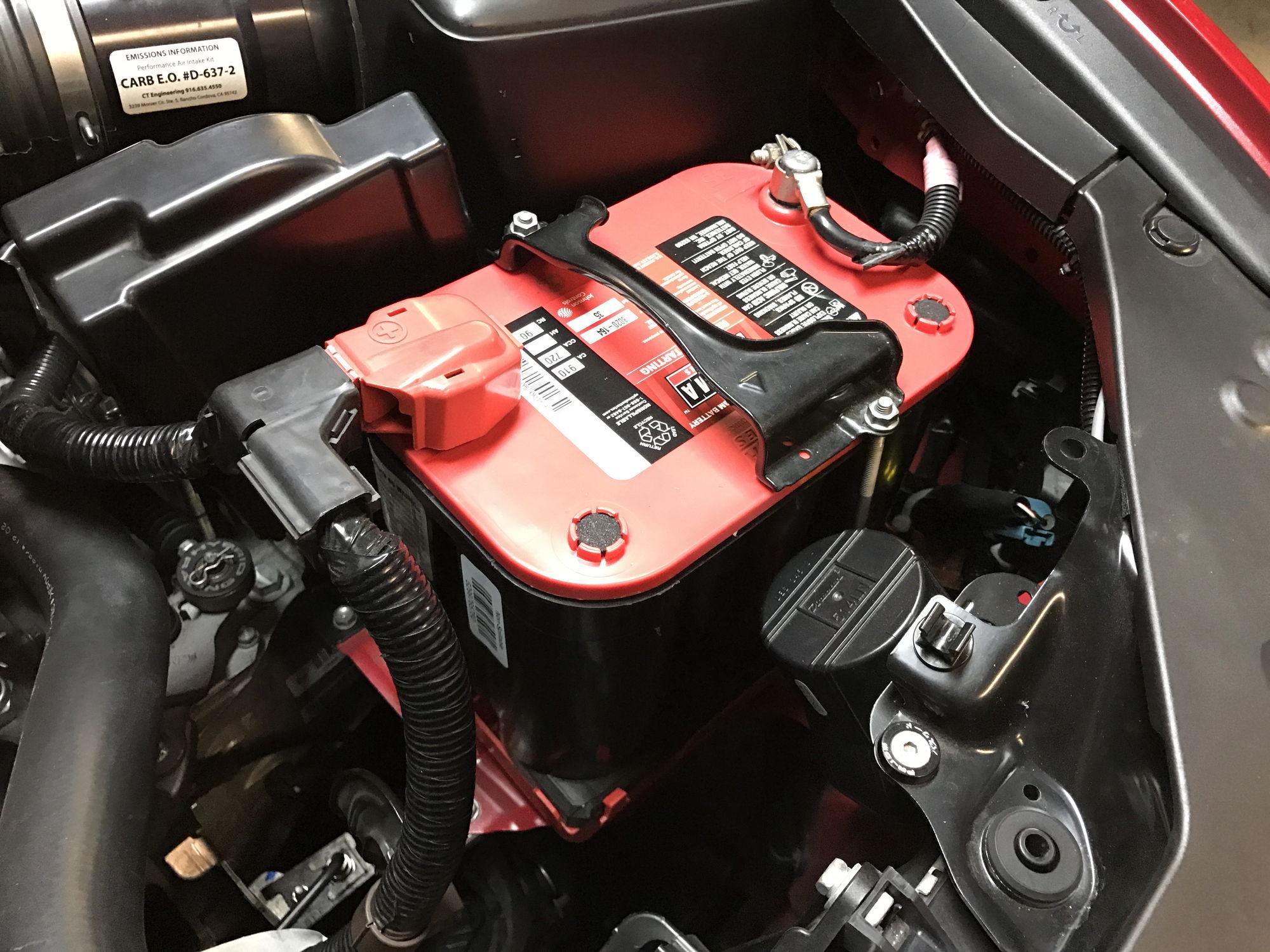 Acura tsx battery size