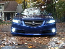 8000K Headlights and Foglights with VLED's V2 Switchbacks