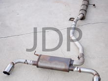 "RDX 3"" Turboback Exhaust"
