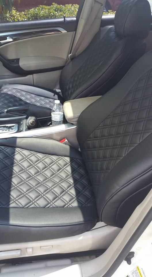 custom clazzio seat cover replacements acurazine acura rh acurazine com 2004 Acura TL Front Seat Cover 2003 Acura TL
