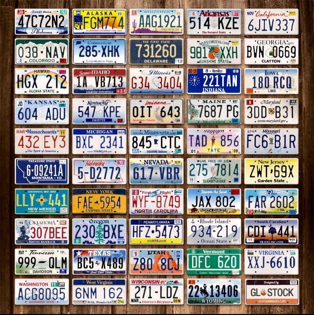 Which State Has The Best Looking License Plates