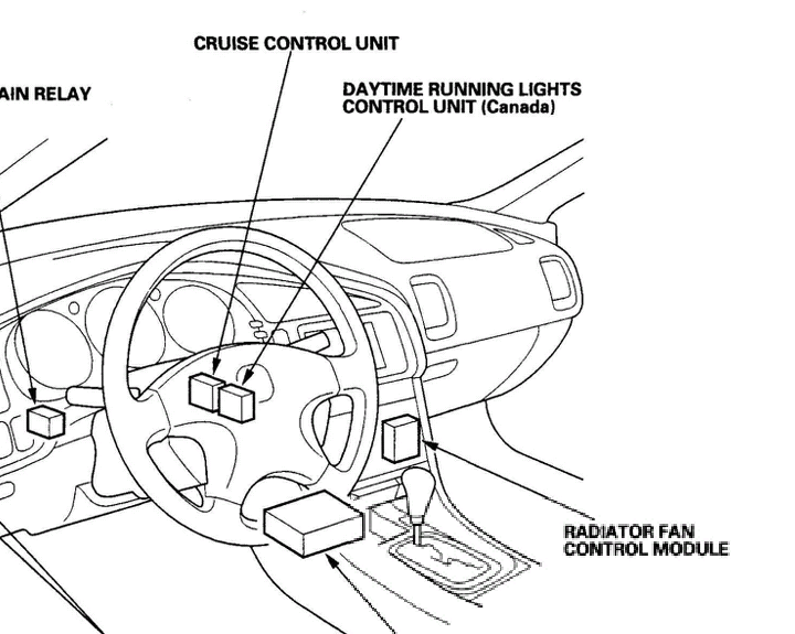 1993 honda civic radiator fan wire diagram