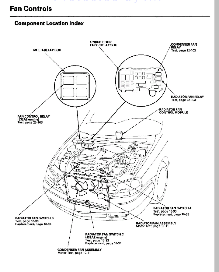 Cooling Fan Relay Location on ford vacuum system diagram