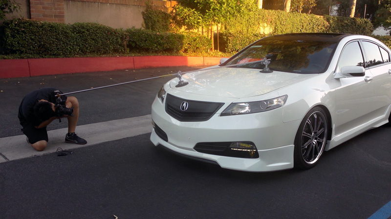 Any advice for installing front lip kit on 2012 TL ...