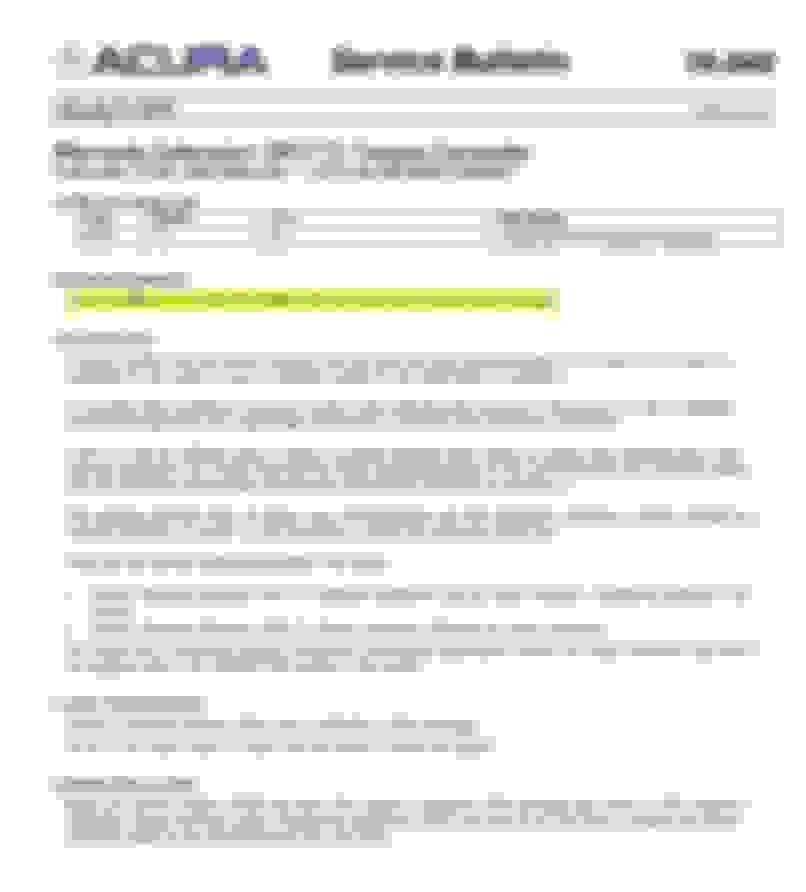 2012 Acura TL Transmission - AcuraZine - Acura Enthusiast