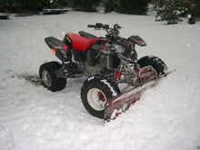 Yup, even a predator can plow some snow!