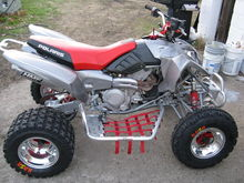 """Here is the 2003 Predator after my """"makeover of it"""" Let me know what you think."""