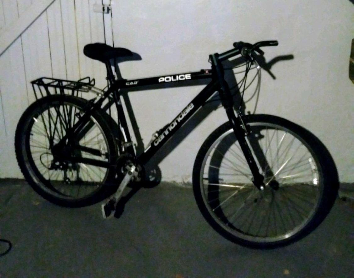 e8e4b3b6249 Cannondale Police Bike - Bike Forums