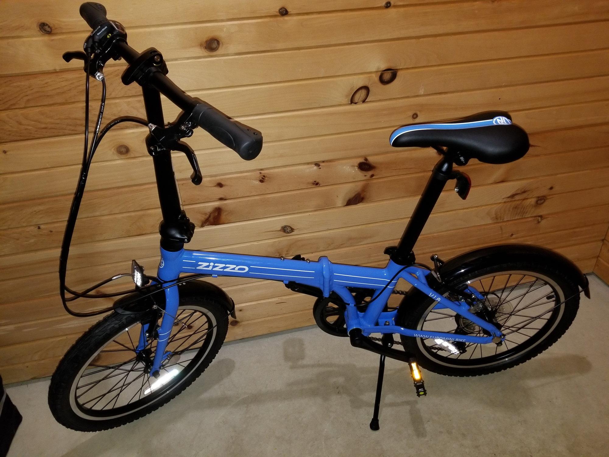 Zizzo Libert Eacute 20 Inch 8 Speed Folding Bicycle Bed Bath Beyond