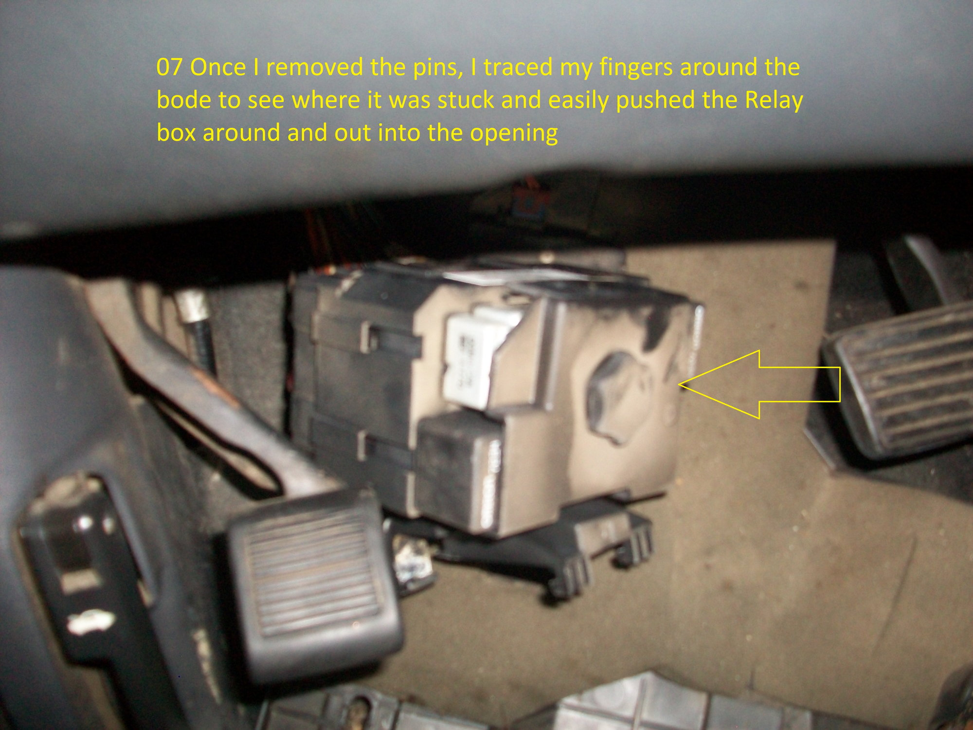 Body relay block location, removal & schematic - Blazer Forum - Chevy Blazer  ForumsBlazer Forum