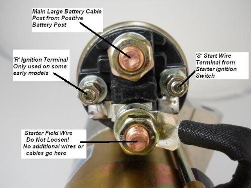 Powermaster Starter Wiring Question Camaro Forums Chevy